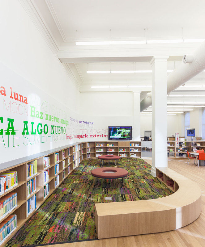 Reading Space   Andrew Berman Architect Project Washington Heights Children S